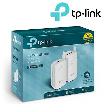 TP-Link AV1200 Gigabit Powerline Adapter WiFi Kit 1300Mbps Broadband Internet
