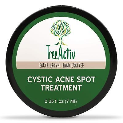 TreeActiv Acne Cystic Spot Treatment Best Extra Strength Fast Acting