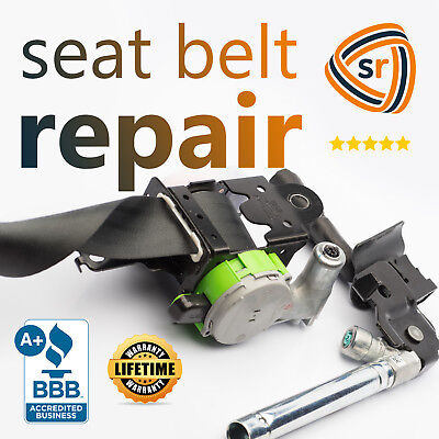 Chevrolet Cruze Seat - Chevrolet Cruze Dual-Stage Seat Belt Repair After Accident Assembly Rebuild OEM