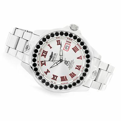 Invicta Men's 47mm Grand Diver Automatic Gemstone Bezel 5.18ctw Watch New