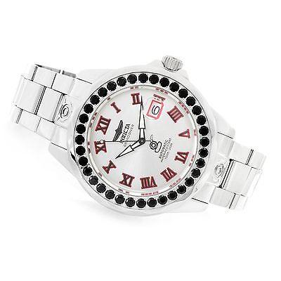 Invicta Men's 47mm Grand Diver Automatic Gemstone Bezel 5.18ctw Watch New