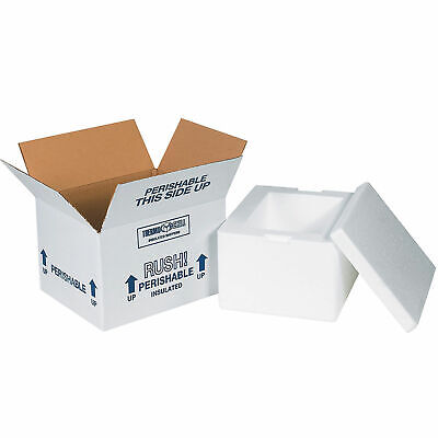 8 X 6 X 4-12 Insulated Shipping Kit