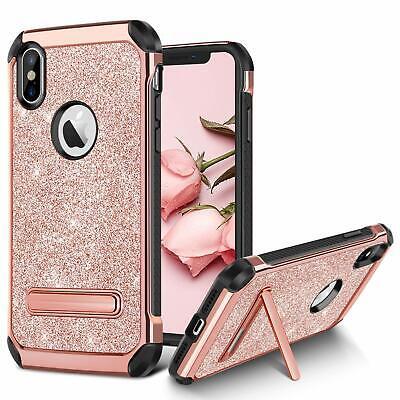 BENTOBEN iPhone X/XS 2018 Case, Protective Carbon Fiber Text