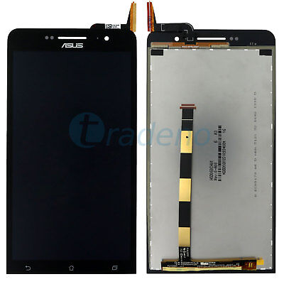 Laser Lcd (Asus Zenfone 6 Laser LCD Display Touchscreen Display Glas Touch Front Schwarz)