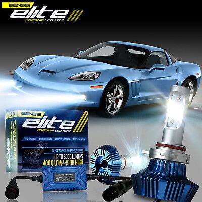 LED Fit Chevrolet Corvette 2005-2012 Driving Fog Light Lamps Light Bulb Pair C6