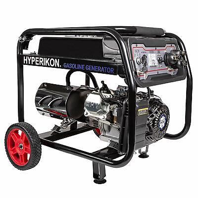 Hyperikon 3000-watt Portable Gas Powered Electric Start Generator With Wheel Kit
