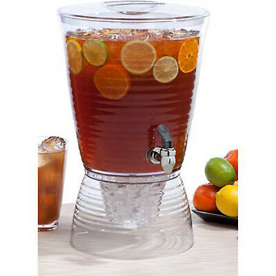 - Beverage Dispenser 1.5 Gallon Pitcher Party Outdoor Drink Ice Tea Juice Indoor