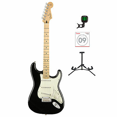 Fender Player Stratocaster Electric Guitar W/Tuner, Strings & Stand