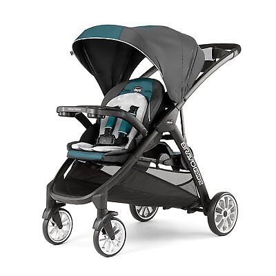 Chicco Bravo For 2 LE Two Passenger Stroller Eucalyptus Free Ship New! BravoFor2 for sale  Towson