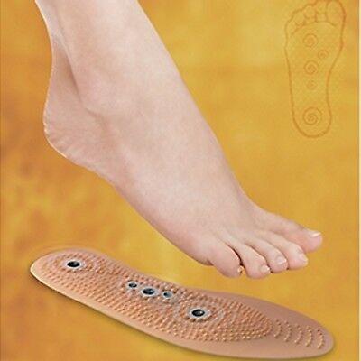 Magnetische zuschneidbare Akupressur Einlagen Schuheinlagen - Einlegesohlen ()