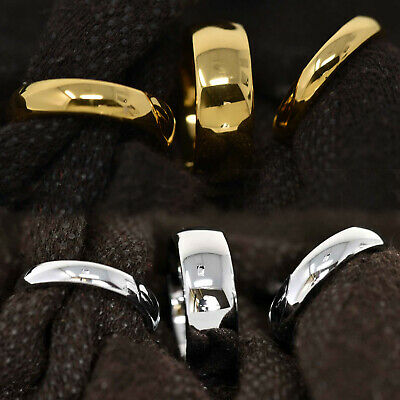 Tungsten Carbide 18k Gold Dome Engagement Wedding Band Mens Womens Bridal Ring ()
