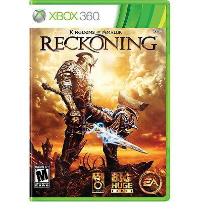 Kingdoms of Amalur: Reckoning (Backwards Compatible) Xbox 360 [Brand New]