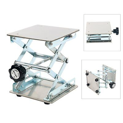 6 Stainless Steel Lab Stand Table Scissor Lift Laboratory Jiffy Jack 150150mm