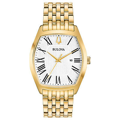 Bulova Women's Classic Ambassador Quartz Gold-Tone 31.5mm Watch 97M116