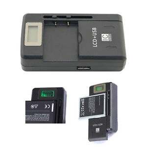 LCD Mobile Battery Charger For Nokia BL-4C BL-5C BL-6C BL-5B