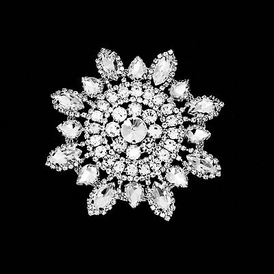 Estrás Cristales para Coser Motivo Boda Plata Parche Bricolaje de Novia Vestidos