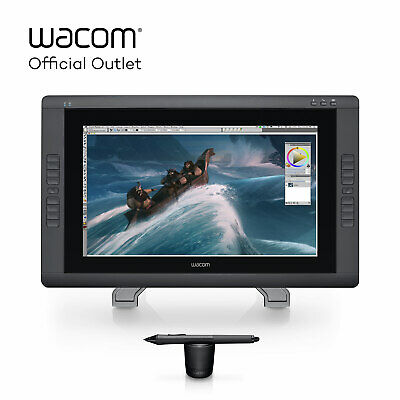 "Certified Refurbished Wacom Cintiq 22HD 21.5"" Creative Pen Display 1080p"