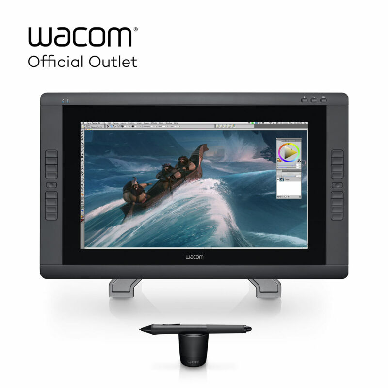 "Certified Refurbished Wacom Cintiq 22HD 21.5"" Creative Pen Display 1080p"