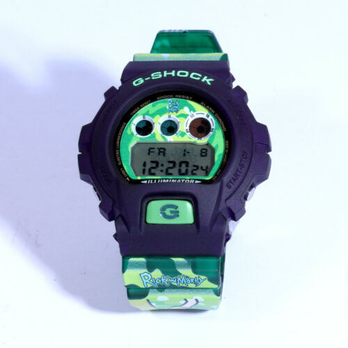 RICK AND MORTY Special Set Custom Design G-Shock Matte Watch