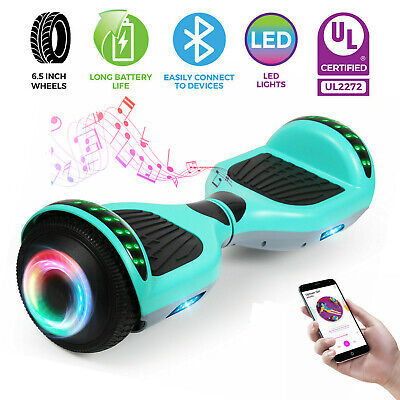 "NEW 6.5"" Bluetooth Hoverboard Electric Self Balancing Scooter UL2272 Without Bag"