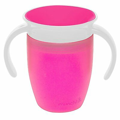 NEW Munchkin Pink Miracle 360 With Handles Cup TRAINER + MAM MiniCooler Theether