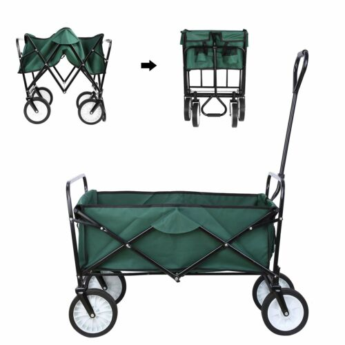 Sport Collapsible Folding Wagon Beach Camp Garden Outdoor Ut
