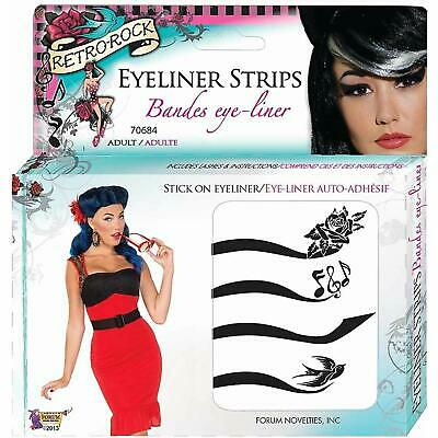 Strips Makeup Pinup Fancy Dress Halloween Costume Accessory (Halloween Pin Up Make-up)