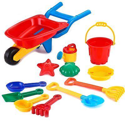 Joyin Toy Beach Sand Toy Set- Cart, Models and Molds, Bucket, Shovels and Rakes (Sand Bucket And Shovel)