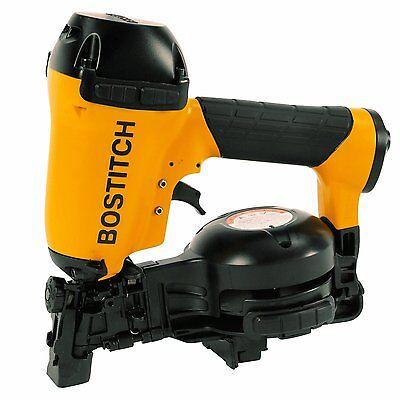"BOSTITCH RN46-1 3/4"" to 1-3/4"" Coil Roofing Nailer Nail Gun Air Tools"