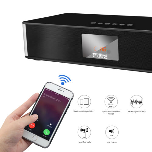 $79.96 - Mini Home System Stereo Super Bass Big Power HIFI Wireless Bluetooth Speaker