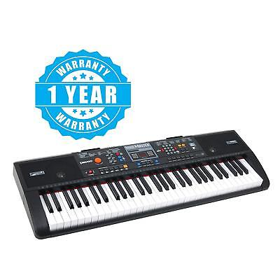 Portable 61 Key Music Keyboard Electronic Piano with USB & MP3 Input Digital