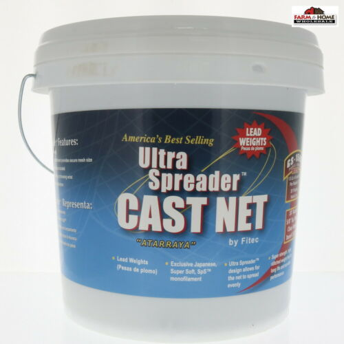 FITEC 10710 GS1500 Ultra Spreader and Cast Net ~ New