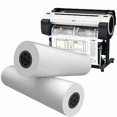 Alliance 36150 Cad 36 Inch X 150 Foot Bond Paper Roll With 2 Inch Core 4 Pack