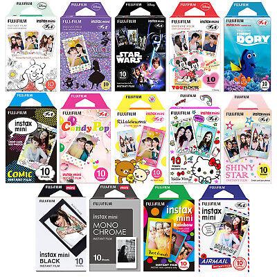 Fujifilm Instax Film Instant Photo Sheets for Mini 7s 8 9 25