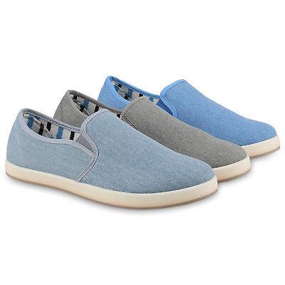 Herren Sneakers Slip-ons Denim Jeans Slipper Freizeit 814772 Schuhe Herren Schuhe Slip-ons