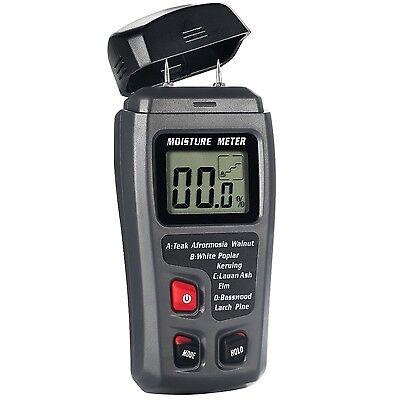 Digital Moisture Meter 4 Calibrated Wood Groups Wood Moisture Detector 2 Pins...