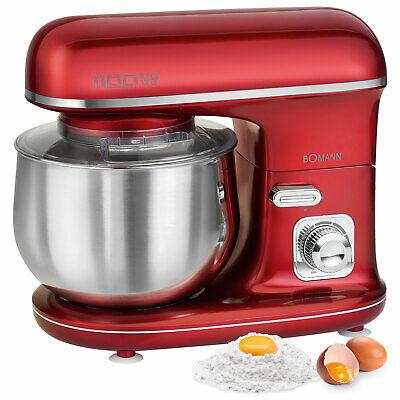 Robot cocina multifuncion batidora amasadora reposteria 5 L 1100W Bomann KM 6010