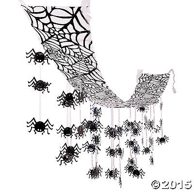 - Hanging Spider Halloween Ceiling Decorations 12