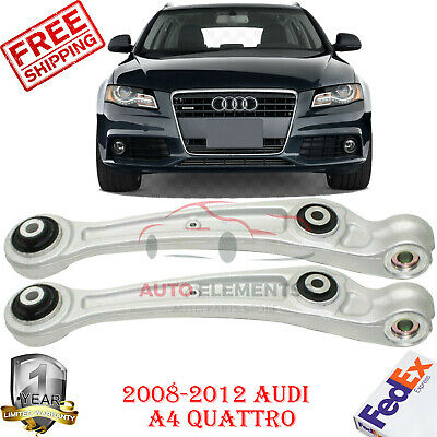 Set of 2 For 2008-2012 Audi A4 A4 Quattro Front Lower Frontward Control Arm Kit