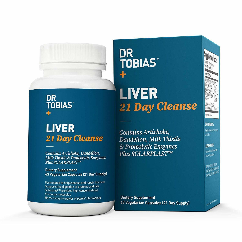 Dr Tobias Liver 21 Day Cleanse - Detox Pills: Detoxifier Reg