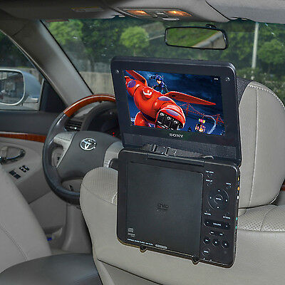 Universal Car Headrest Mount Holder - Portable DVD Player 7 to 10 inch by TFY