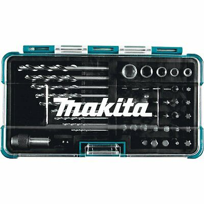 Makita Tool HSS Drill Bit Holder Screwdriver Socket Magnetic Set 48 Pc B-36192 ()