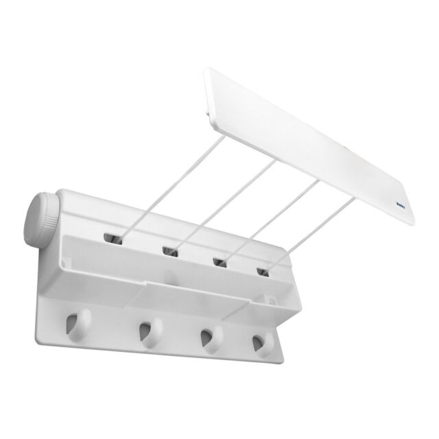 Minky Four Line Indoor Retractable Airer, 12 m
