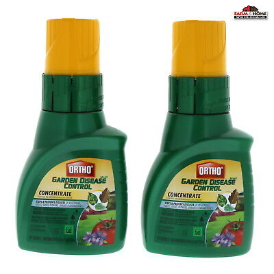 (2) Scotts Ortho MAX Garden Disease Control Concentrate 16 Oz ~ New - Ships Fast ()