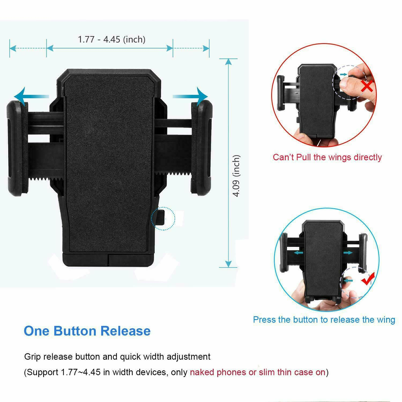 For iPhone Phone Universal Car Adjustable Gooseneck Holder