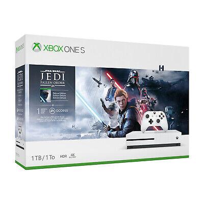 New Microsoft Xbox One S 1TB Star Wars Jedi Fallen Order Del