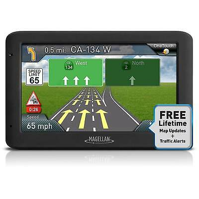 "Magellan Roadmate 5635T-LM 5"" Touch Portable GPS 3D Navigation System, USA Maps"