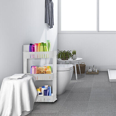 Out Racks - Slim Slide Out Storage Kitchen Pull Out Cart Trolley Shelf Narrow Places Rack