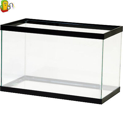 Aquarium Empty Terrarium 10 Gallon Fish Tank Aqua Culture Water Starter Reptiles