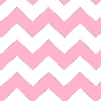 Fabric Baby Chevron Pink on White Flannel 1/4 Yard](Pink Chevron)